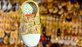 Фотоснимок запаса объекта обуви ботинка детей Стоковые Изображения