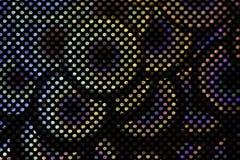 Фотоснимок конца-вверх картины круга для предпосылки Стильная текстура от кругов Стоковое Изображение