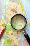 Использование земли, принципиальная схема городского планирования Стоковая Фотография RF