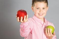 Ребенок яблок 10 Стоковые Изображения RF
