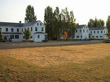 Старые воиска Barracks здания Стоковое фото RF