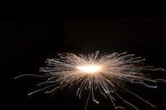Фотоснимок сферы фейерверков стоковое фото rf