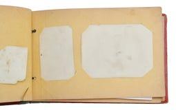 фото альбома открытое стоковая фотография