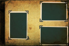 фото альбома старое Стоковые Изображения RF