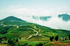 Фото ландшафта горы Berk ушата Стоковое Фото