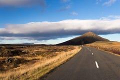 Фото ландшафта осени в северной Исландии Стоковые Фото