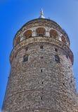 Фото башни Galata в Стамбуле Стоковая Фотография