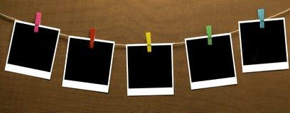 Фото бельевой веревки стоковое изображение