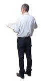 1 фото бизнесмена книги Стоковая Фотография RF