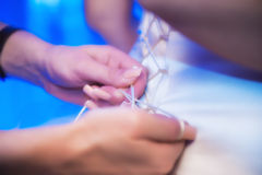 Фото венчания Стоковые Изображения