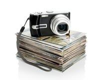 фото вороха камеры цифровые Стоковая Фотография