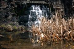 Фото водопада на реке Стоковая Фотография RF