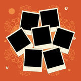 фото вставки рамки коллажа изображают ваше Стоковые Фото