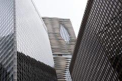 Фото высоких зданий от южной петли в Чикаго Стоковые Фотографии RF