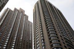 Фото высоких зданий от южной петли в Чикаго Стоковое фото RF