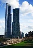 Фото высоких зданий. Чикаго Стоковое фото RF