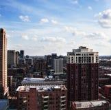 Фото высоких зданий. Чикаго Стоковое Изображение