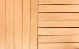Фото горизонтальных и вертикальных деревянных планок Стоковое Фото