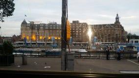Фото города Амстердама Стоковое Изображение
