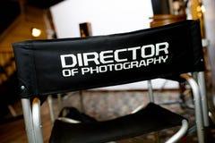 Фото директора ` стула ` фотографии Стоковая Фотография