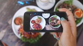 Фото еды здоровой еды Для социальных сетей Стоковое фото RF