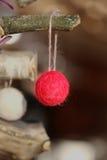 Фото декоративного шарика рождества Стоковое Фото