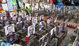 Фото жертв в Киеве Стоковое Изображение RF
