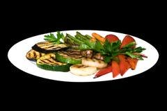 Фото зажаренных овощей Стоковое Изображение RF
