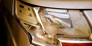 Фото запаса ангела фары стороны автомобиля стоковое изображение