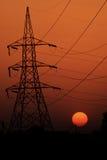 Фото захода солнца и фотоснимок природы стоковое изображение rf