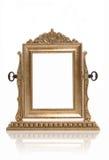 фото золота рамки Стоковое Изображение