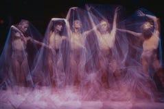 Фото как искусство - чувственный и эмоциональный танец  Стоковая Фотография