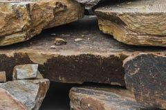 Фото каменного песчаника Стоковые Фото