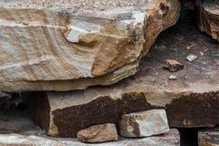Фото каменного песчаника Стоковая Фотография