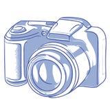 фото 2 камер цифровое изолированное встает на сторону белизна бесплатная иллюстрация