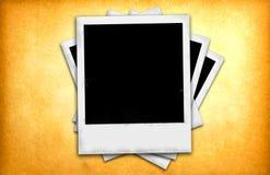 фото классицистических рамок немедленное старое бумажное Стоковые Изображения