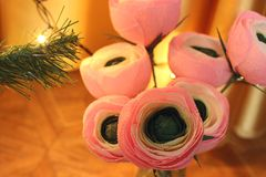 фото красивейших цветков бумажное очень цветет handmade стоковые фотографии rf