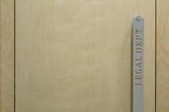 Фото крупного плана ручки двери Стоковые Изображения RF