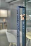 Фото крупного плана ручки двери Стоковые Фото