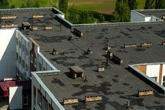 Фото крыши школы стоковые изображения