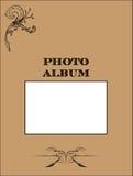 фото крышки альбома Стоковые Изображения