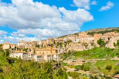 Фото ландшафта города Cuenca стоковые фото