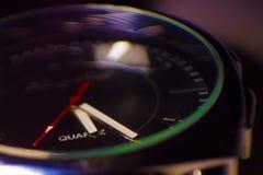 Фото макроса наручных часов Стоковое Фото