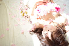 Фото материнства женщин которые беременный Стоковое Изображение