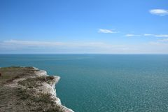 Фото моря и морского побережья стоковое фото rf