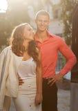 Фото моды сексуальных элегантных пар Стоковое Изображение