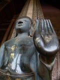 Фото низкого угла лаосца Будды Стоковая Фотография RF