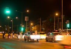 Фото ночи соединения Meechok Стоковое Изображение RF