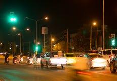 Фото ночи соединения Meechok Стоковая Фотография RF
