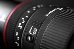 фото объектива фотоаппарата Стоковые Изображения RF